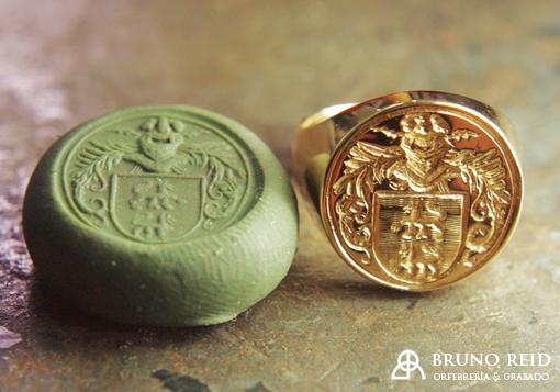 La historia de los anillos sello