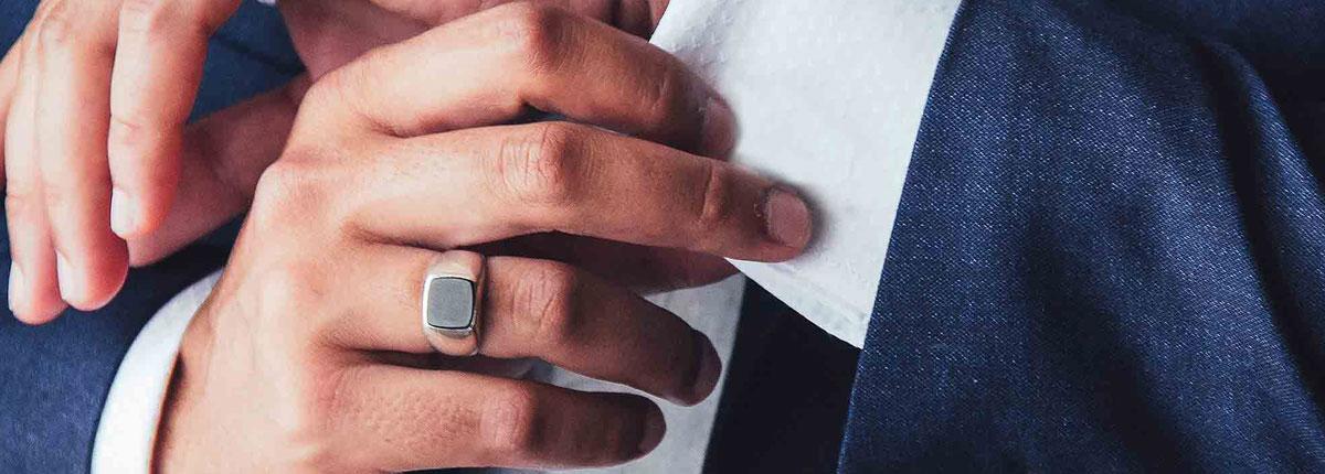 Cuál es la manera de usar el anillo sello